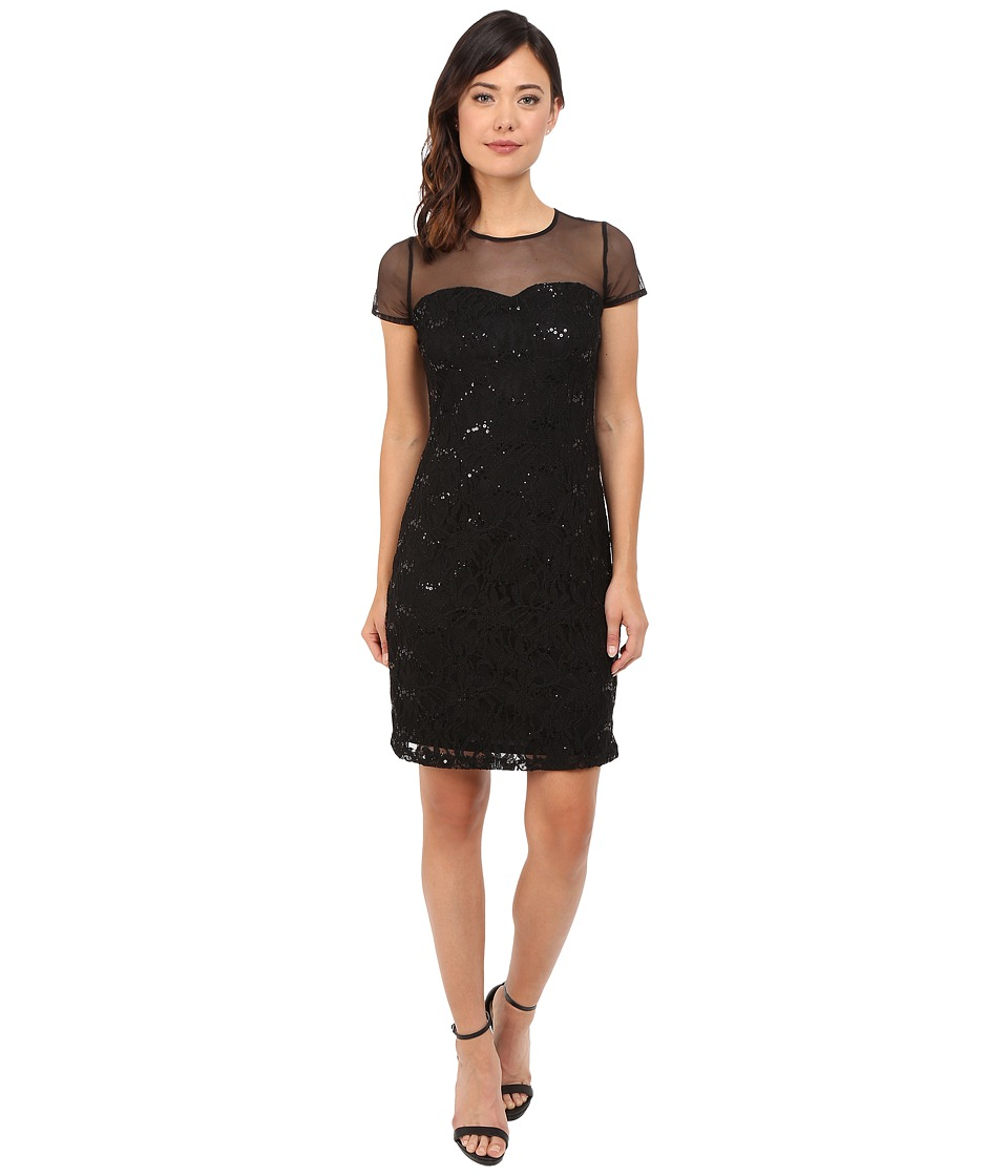 rsvp - Pisa Jersey Dress (Black) Women's Dress