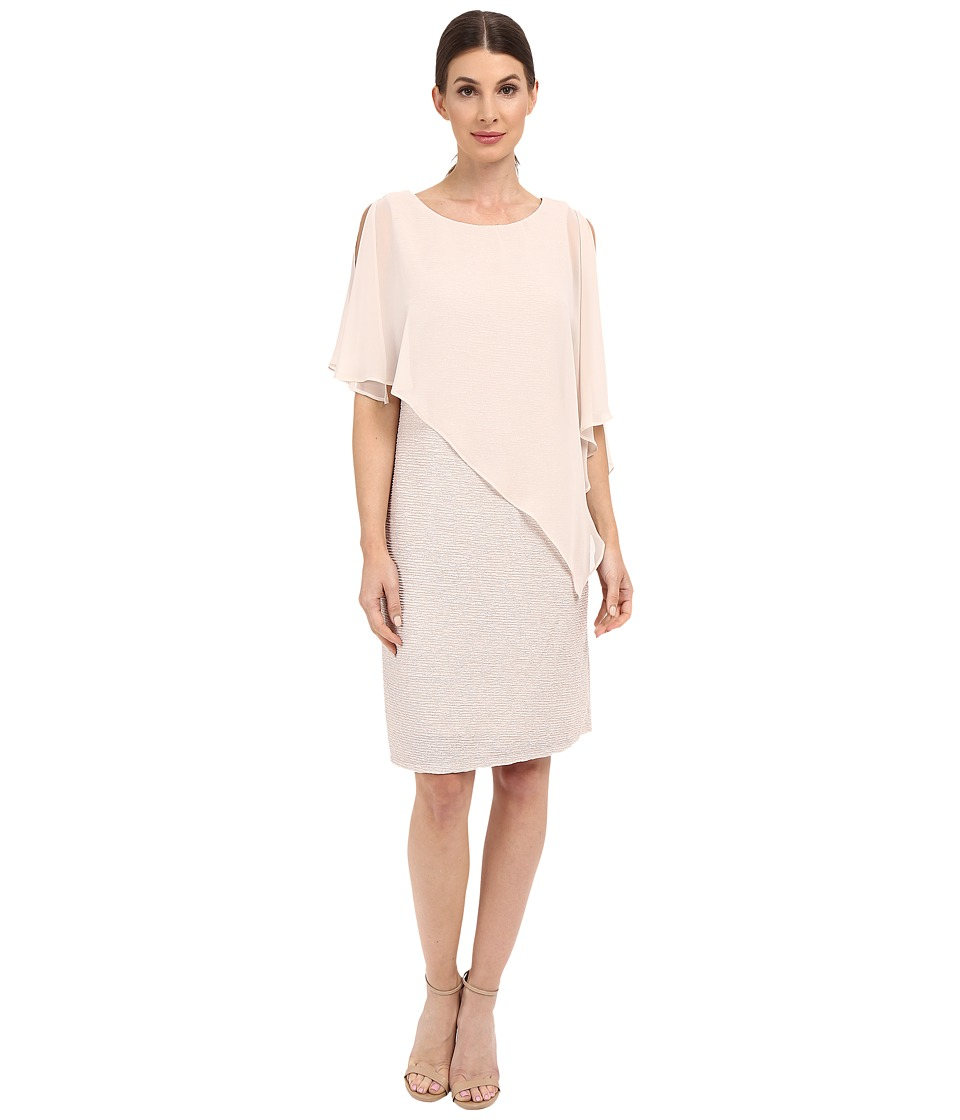 rsvp - Gionvanni Asymmetrical Dress (Champagne) Women's Dress