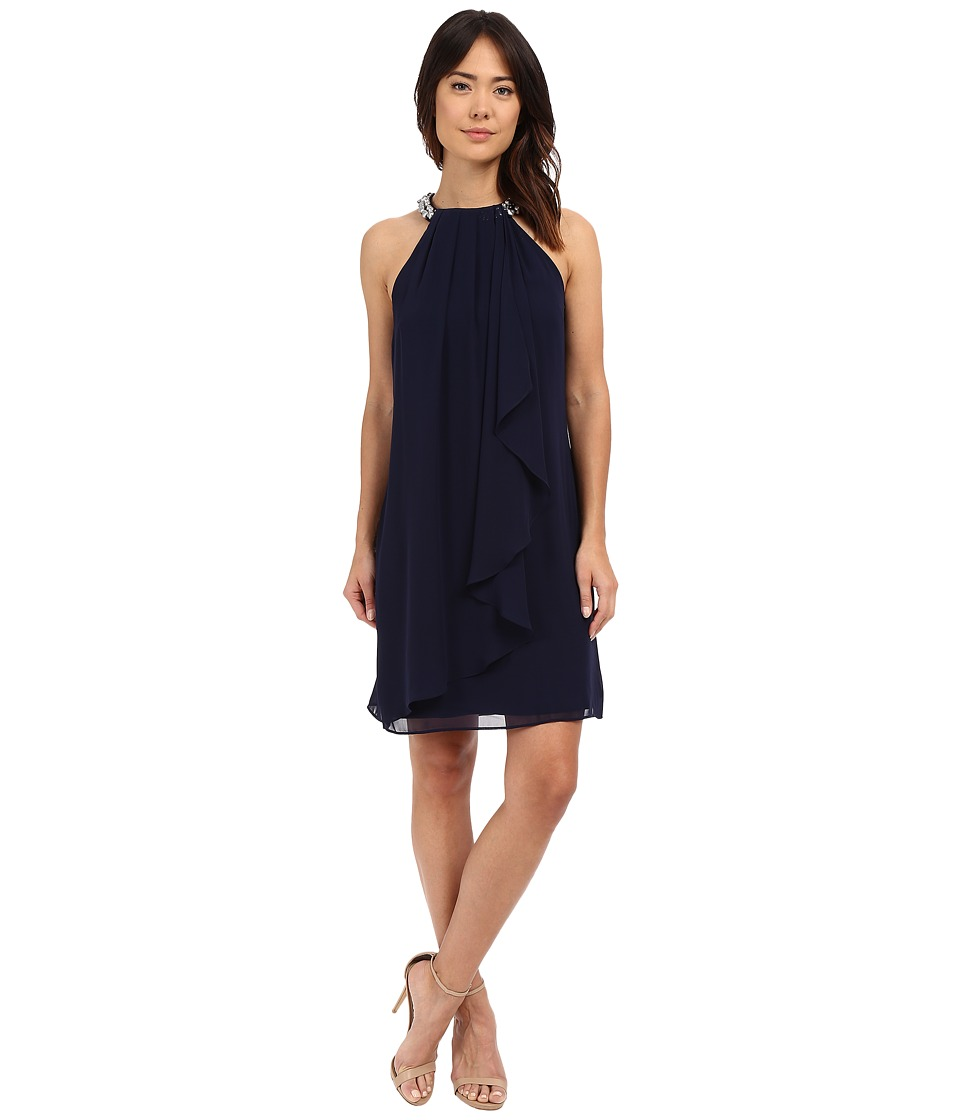 rsvp - Balsamo Beaded Dress (Navy) Women's Dress