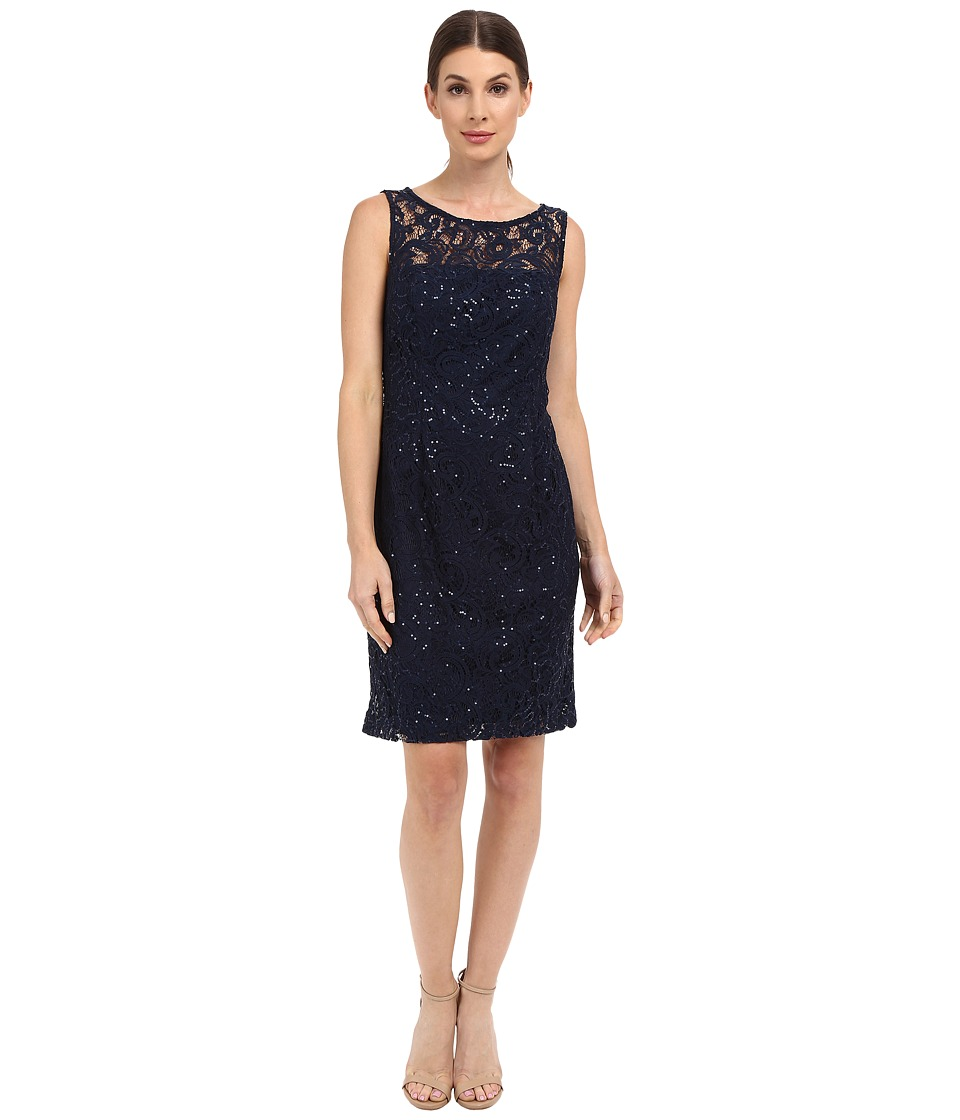 rsvp - Casoria Lace Dress (Navy) Women's Dress
