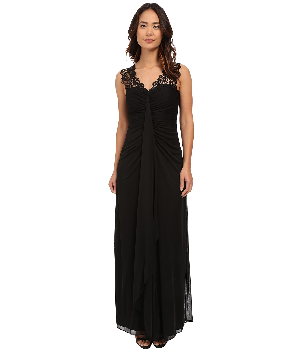 rsvp - Versilia Gown (Black) Women's Dress