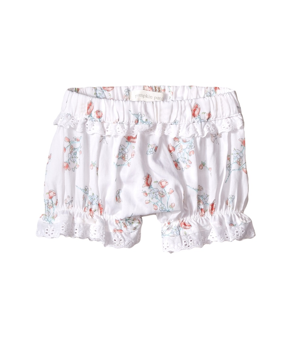 Pumpkin Patch Kids - Lace Trim Shorts (Infant) (Clean White) Girl's Shorts