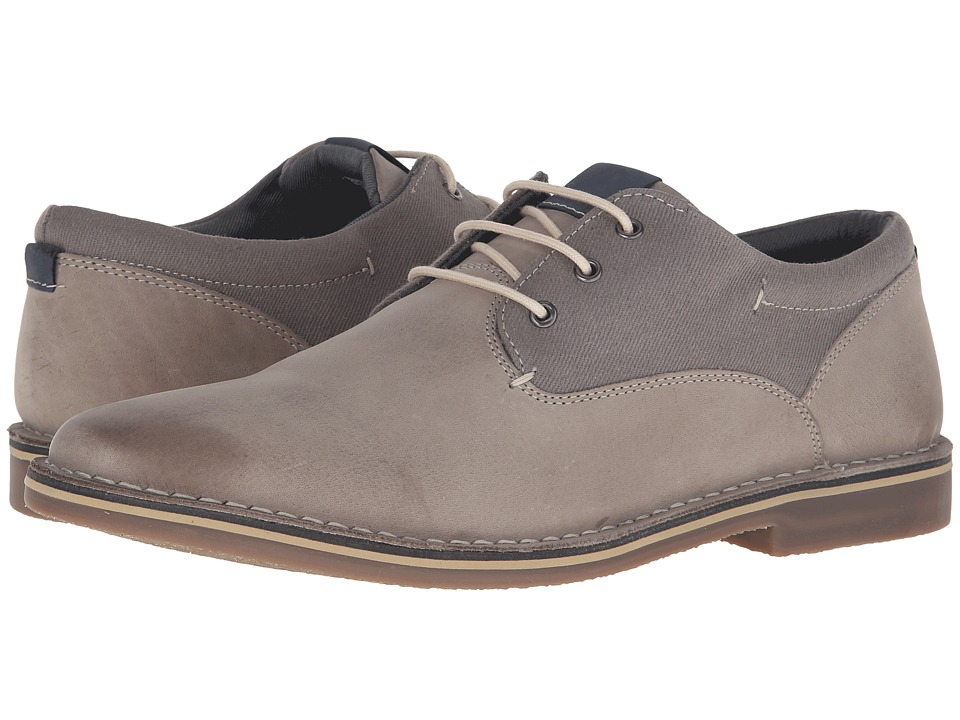 Steve Madden - Harpoon 3 (Extended Sizes) (Grey/Blue) Men's Lace up casual Shoes