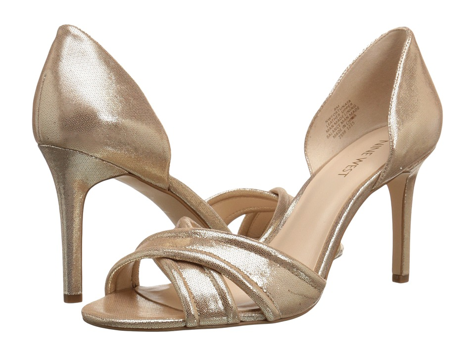 Nine West - Fortunata (Light Gold Metallic) Women's Shoes