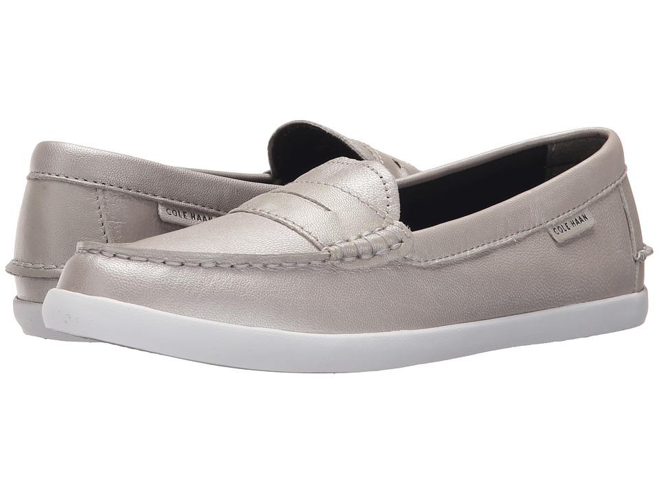 Cole Haan - Nantucket Loafer (Argento Metallic) Women's Shoes