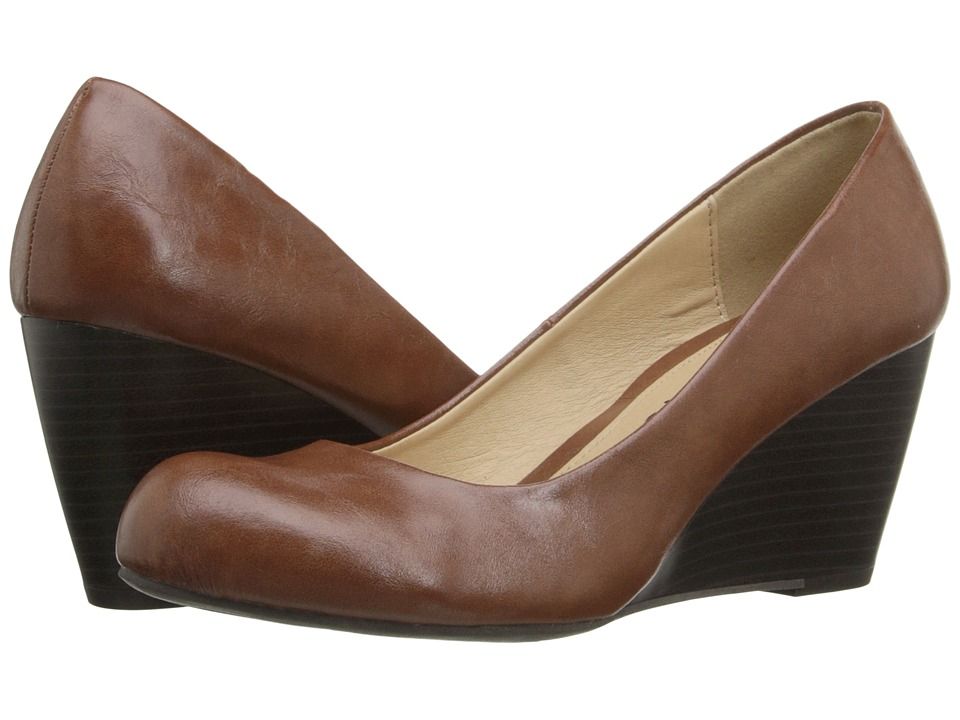 Dirty Laundry - DL Not Me (Cognac 2) Women's Wedge Shoes