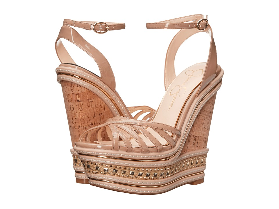 Jessica Simpson Aimms (Nude Patent) Women