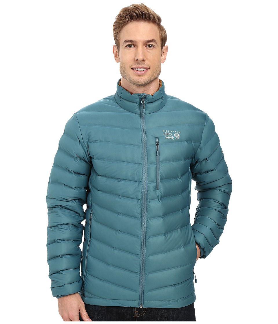 Mountain Hardwear - StretchDown Jacket (Cloudburst) Men's Coat