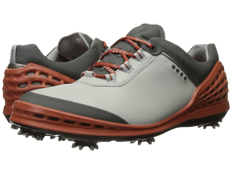 ECCO Golf - Cage (Concrete/Picante) Men's Shoes