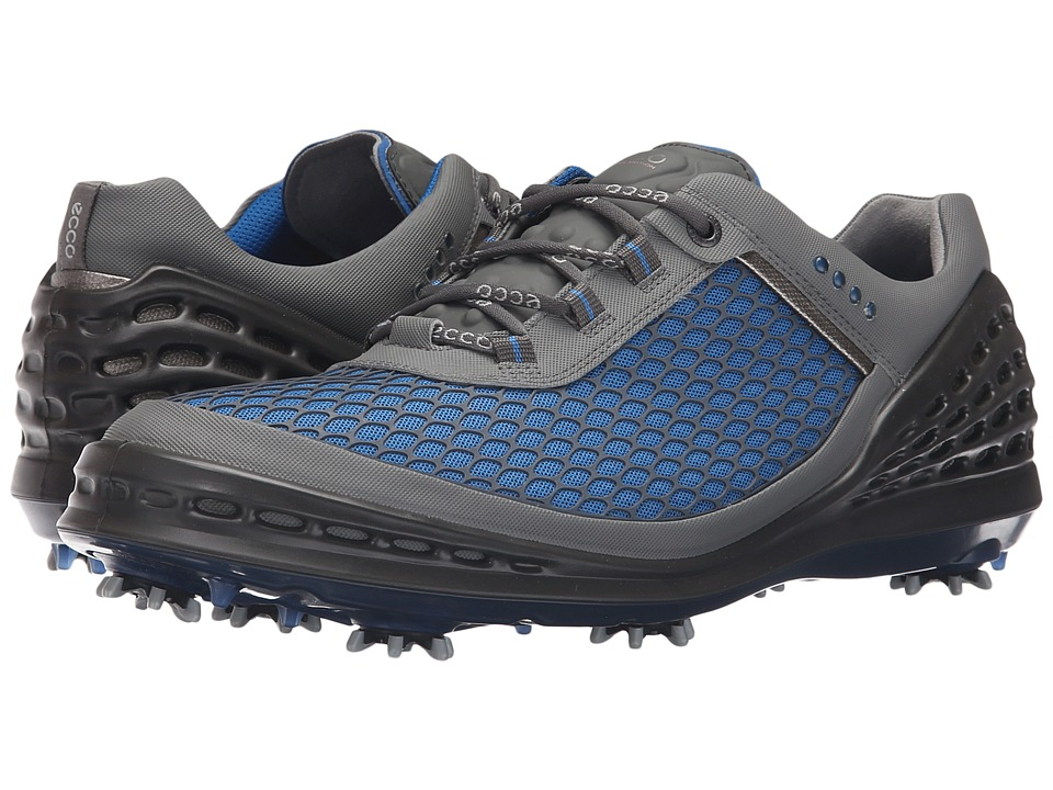ECCO Golf - Evo Cage (Bermuda Blue-Ombre/Bermuda Blue) Men's Golf Shoes