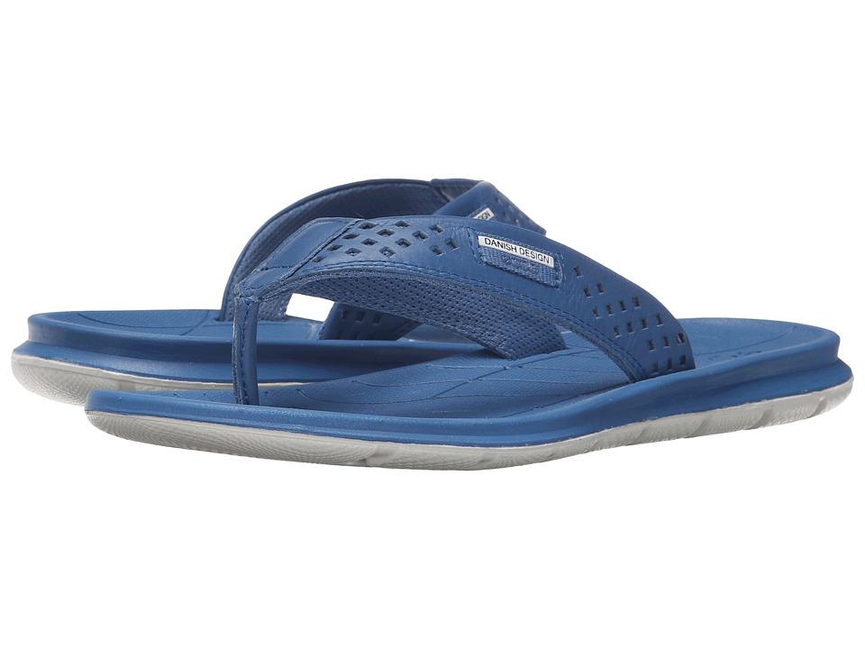 ECCO Sport - Intrinsic Thong Sandal (Cobalt) Women's Sandals