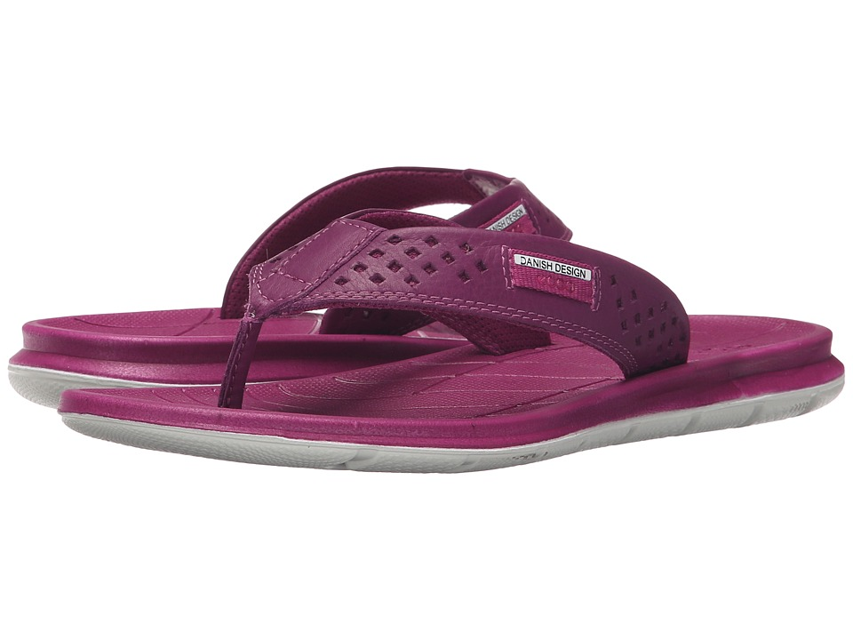 ECCO Sport - Intrinsic Thong Sandal (Fuchsia) Women's Sandals