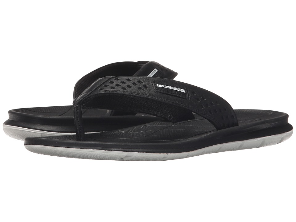 ECCO Sport - Intrinsic Thong Sandal (Black) Women's Sandals