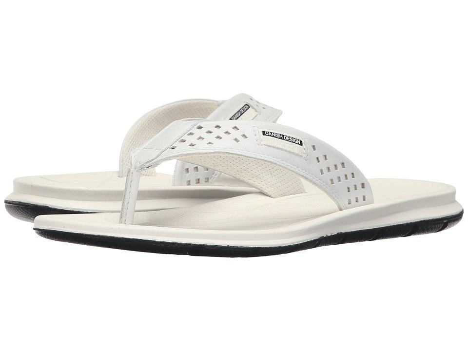 ECCO Sport - Intrinsic Thong Sandal (White) Women's Sandals