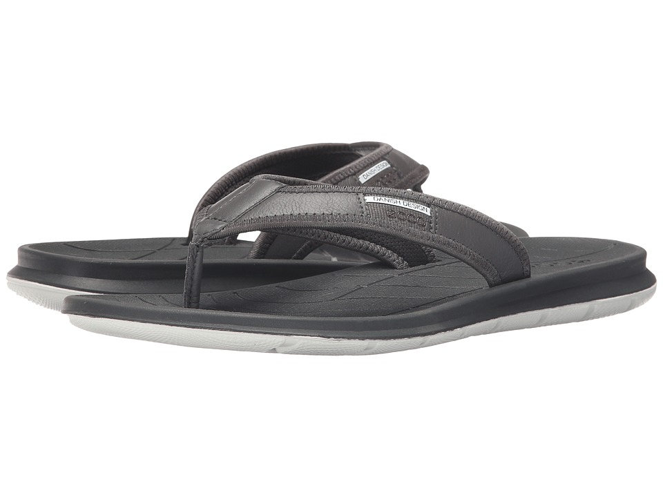 ECCO Sport - Intrinsic Thong Sandal (Dark Shadow) Men's Sandals