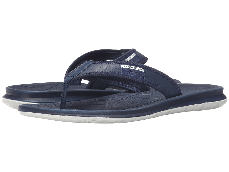 ECCO Sport - Intrinsic Thong Sandal (True Navy) Men's Sandals