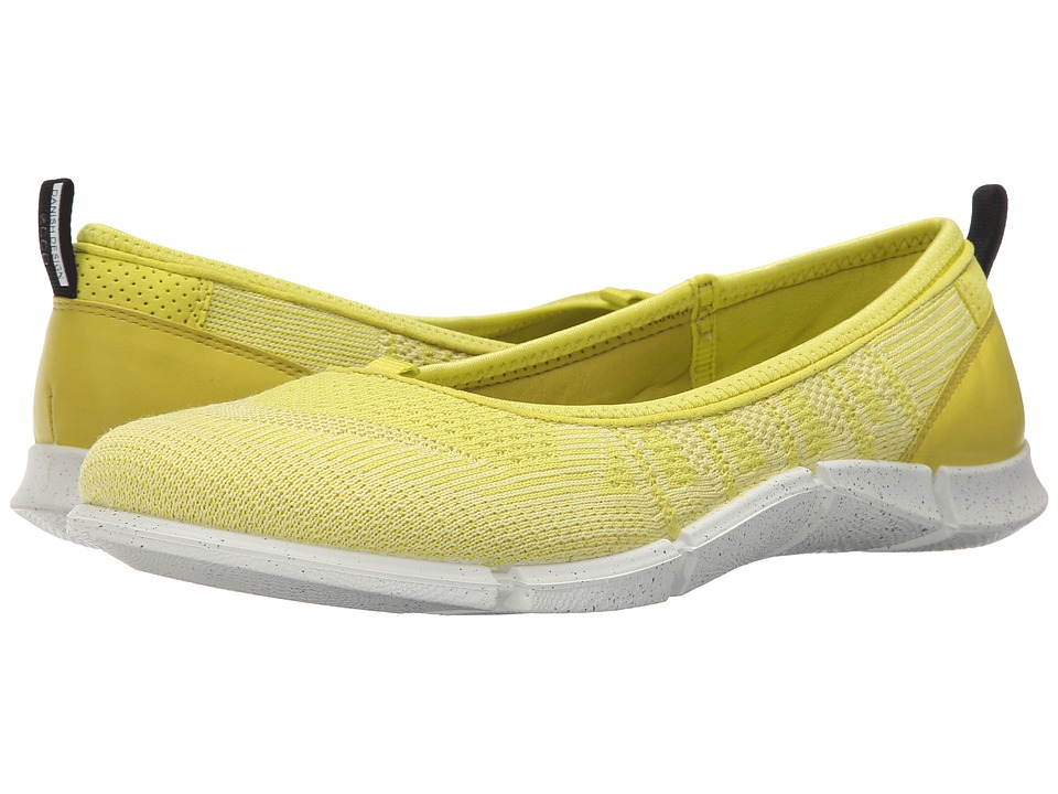 ECCO Sport - Intrinsic Karma Flat (Sulphur/Lemon Neon Sulphur/Sulphur) Women's Flat Shoes