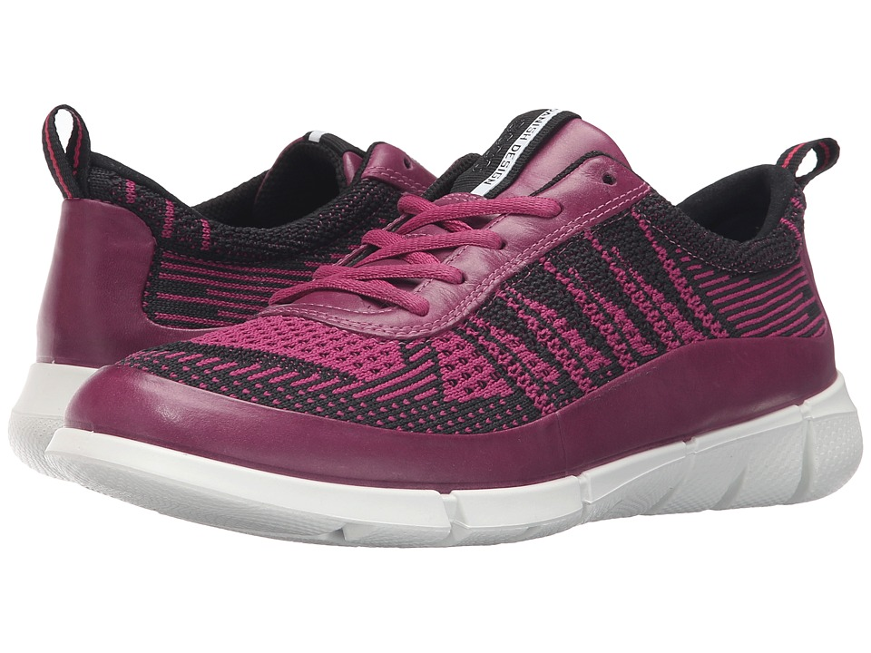 ECCO Sport - Intrinsic Knit (Fuchsia/Fuchsia) Women's Walking Shoes