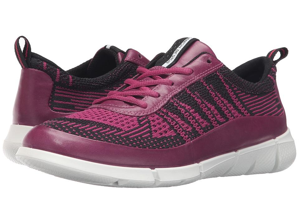 ECCO Sport - Intrinsic Knit (Fuchsia/Fuchsia) Women's Walking Shoes