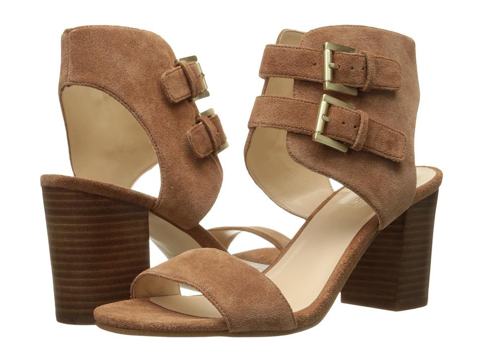 Nine West - Galiceno (Cognac Suede) High Heels