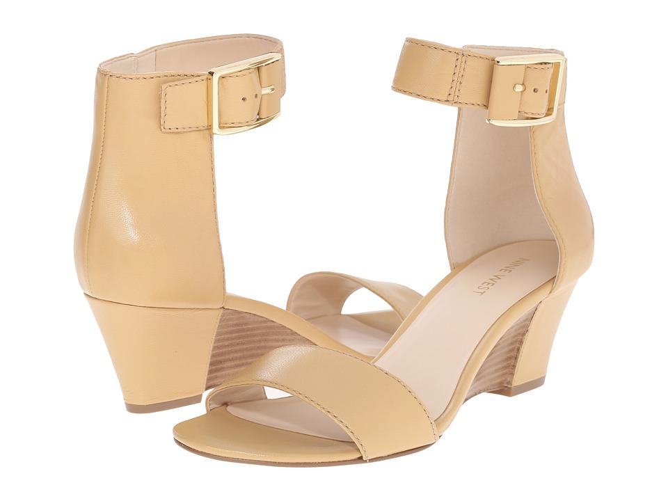 Nine West - Vamished (Natural/Natural Leather) Women's Shoes