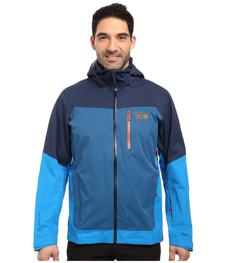Mountain Hardwear - Dragon's Back Jacket (Hardwear Navy/Dark Compass) Men's Coat