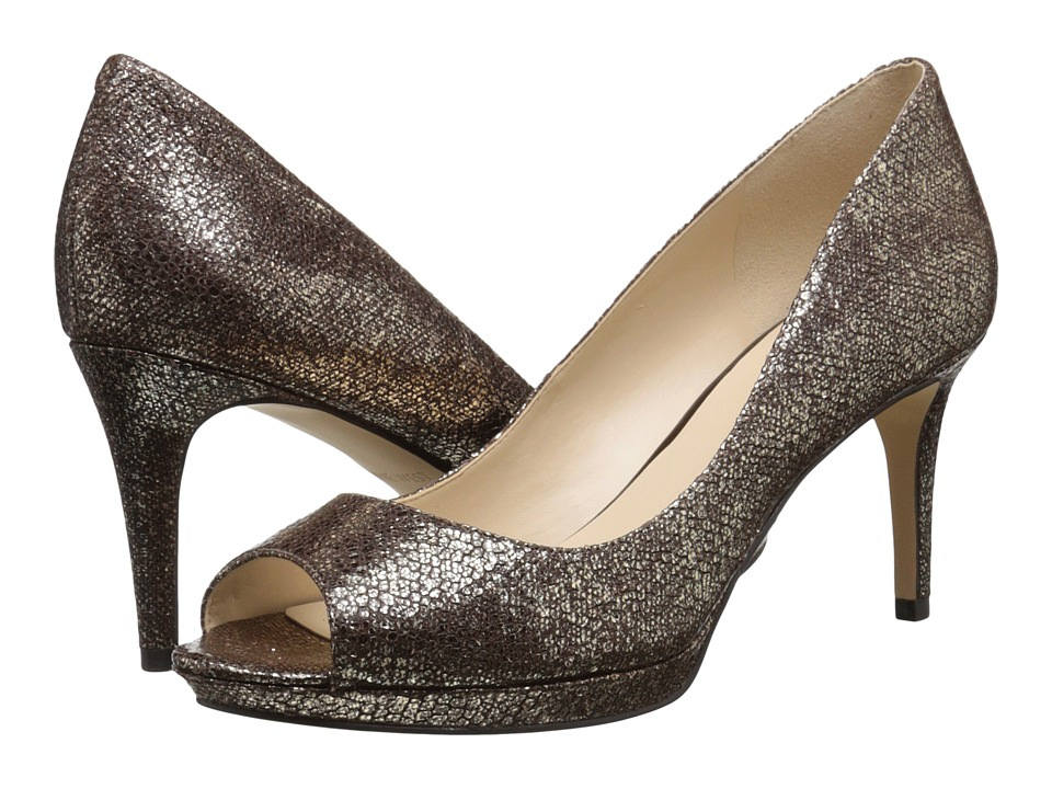 Nine West - Gelabelle (Brown Metallic) Women's Shoes