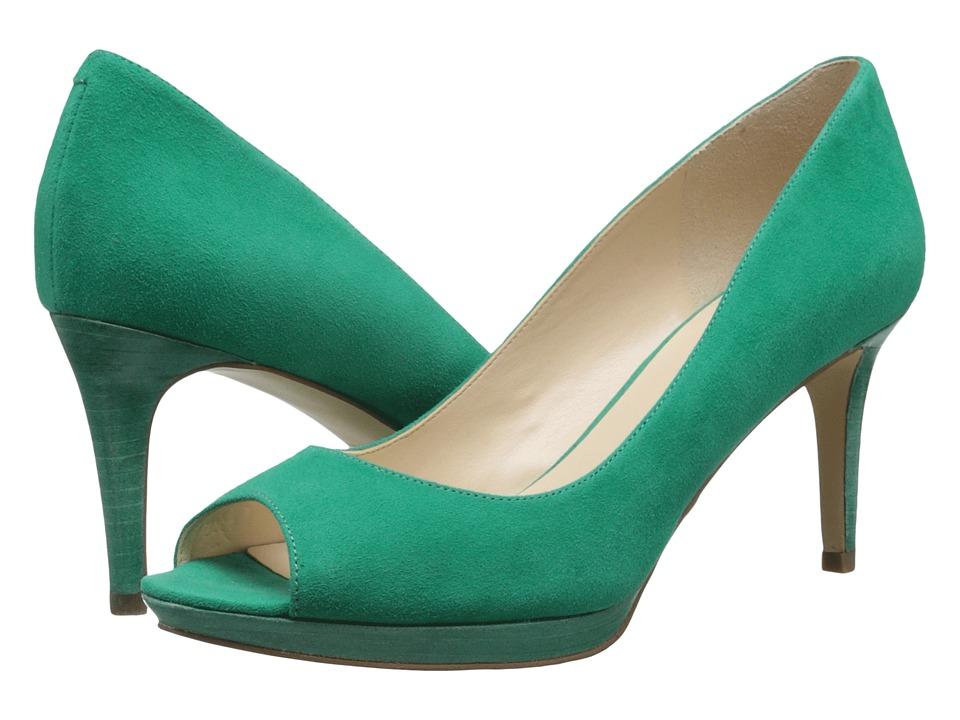 Nine West - Gelabelle (Green Suede) Women's Shoes