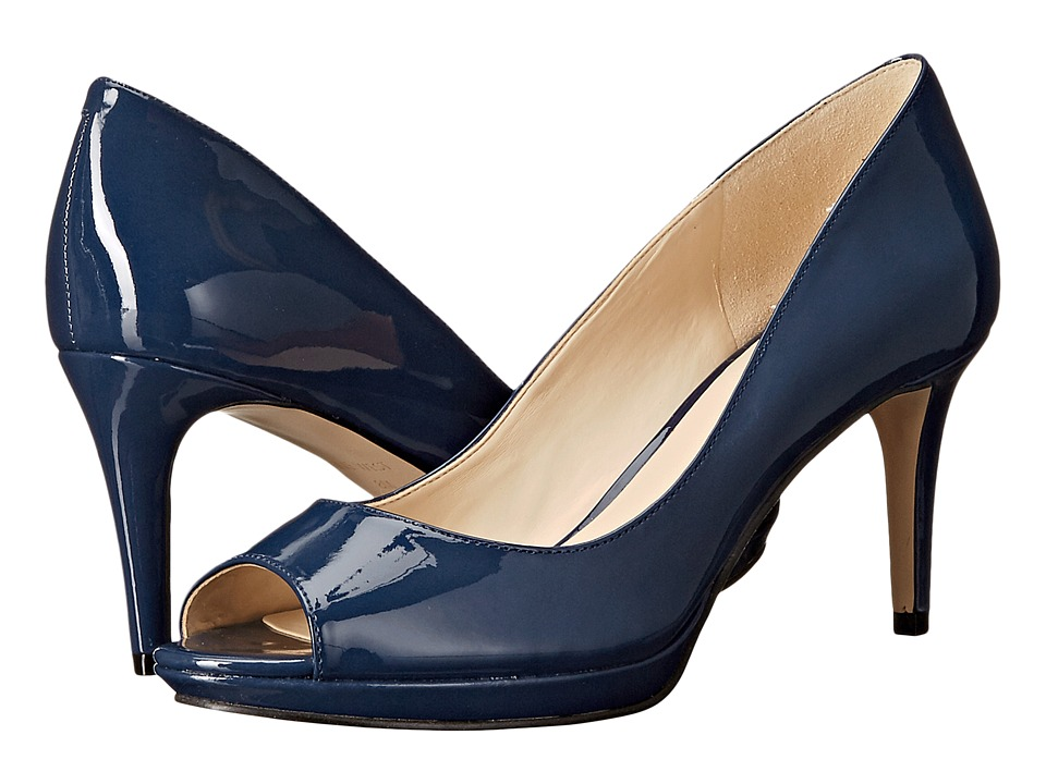 Nine West - Gelabelle3 (Navy Synthetic) Women's Shoes
