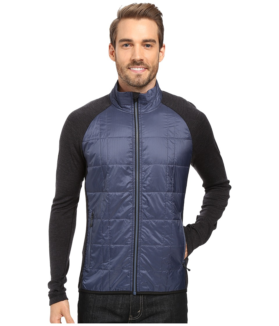Smartwool - Propulsion 60 Jacket (Dark Blue Steel) Men's Jacket