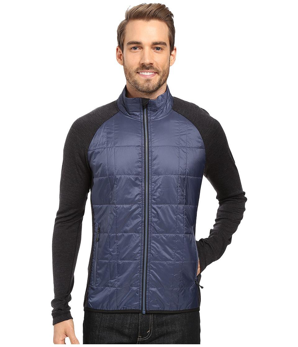 Smartwool - Propulsion 60 Jacket (Dark Blue Steel) Men's Jacket