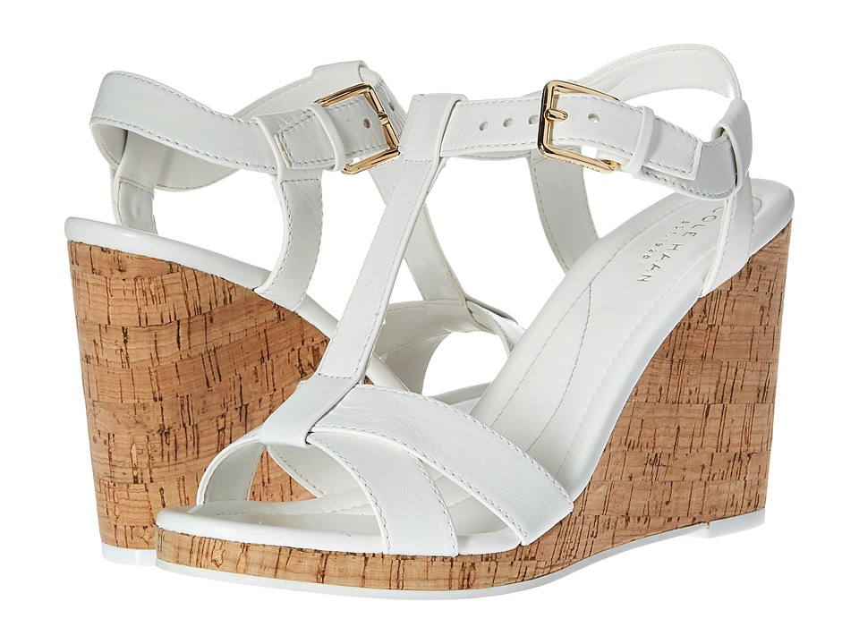 Cole Haan - Ayla Wedge II (Optic White) Women's Wedge Shoes