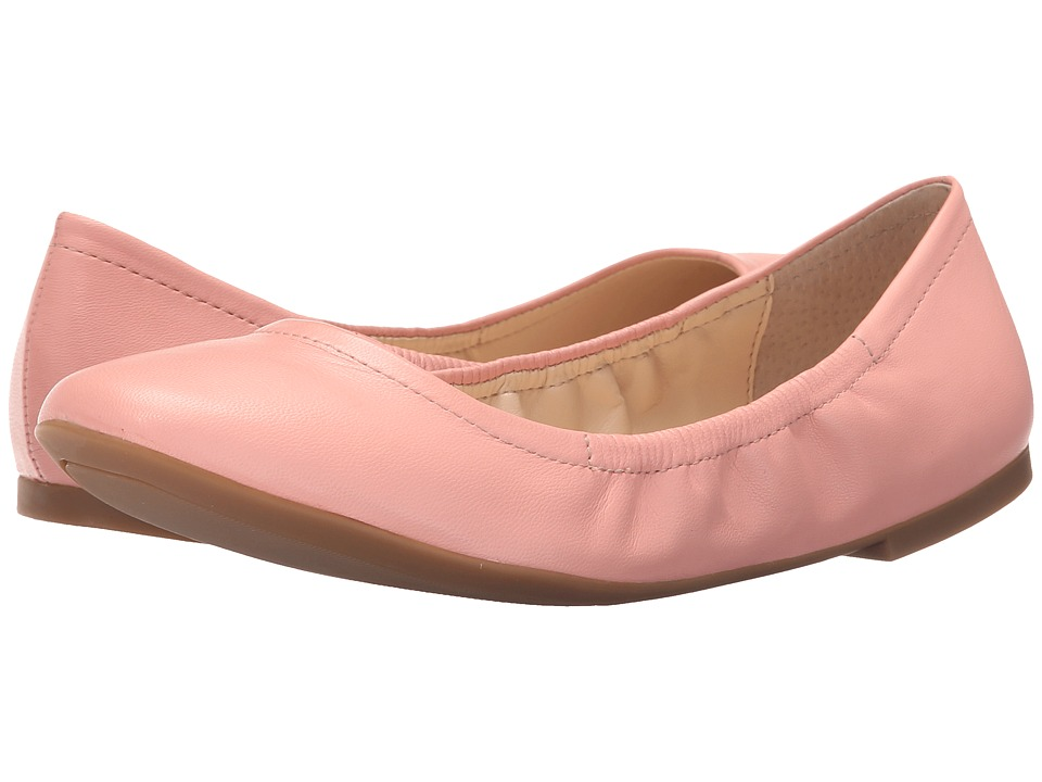 Nine West - Girlsnite (Pink Leather) Women's Flat Shoes