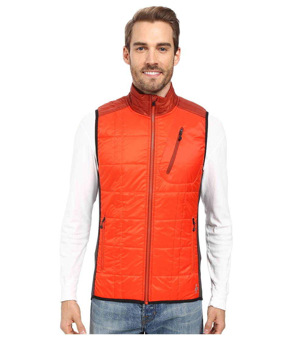 Smartwool - Corbet 120 Vest (Bright Orange) Men's Vest