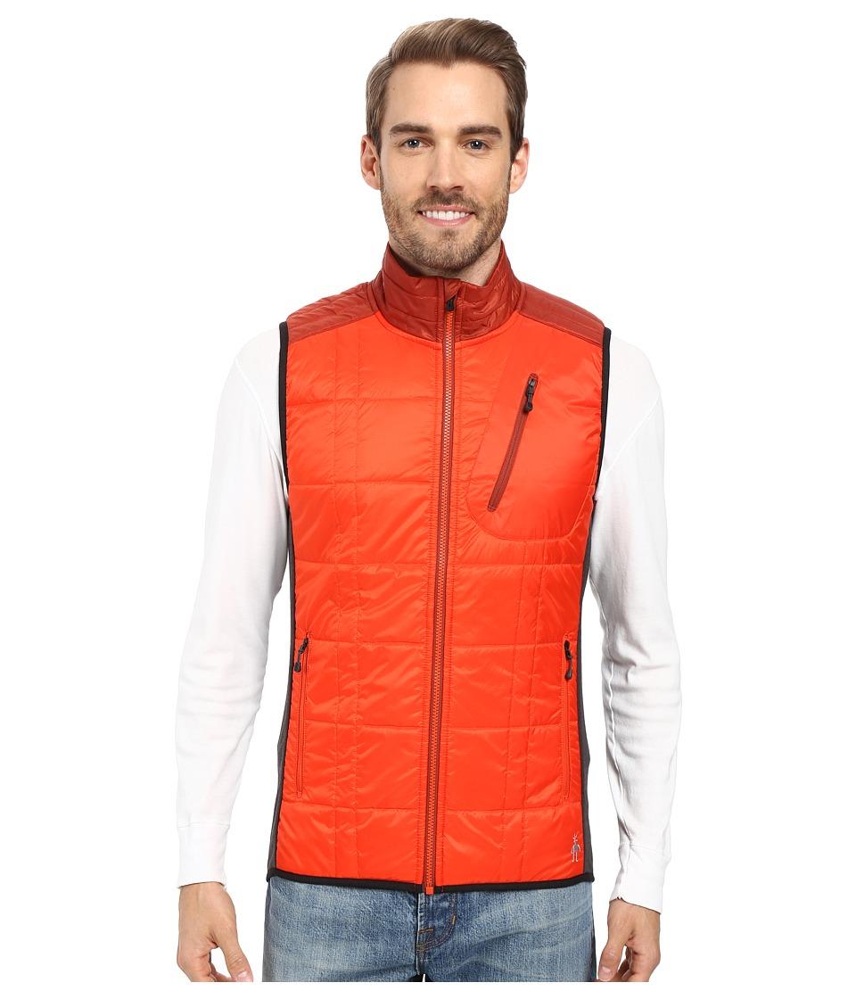 Smartwool - Corbet 120 Vest (Bright Orange) Men's Vest