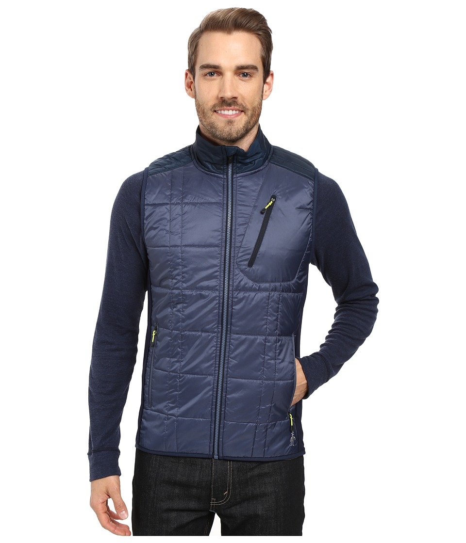 Smartwool - Corbet 120 Vest (Dark Blue Steel) Men's Vest