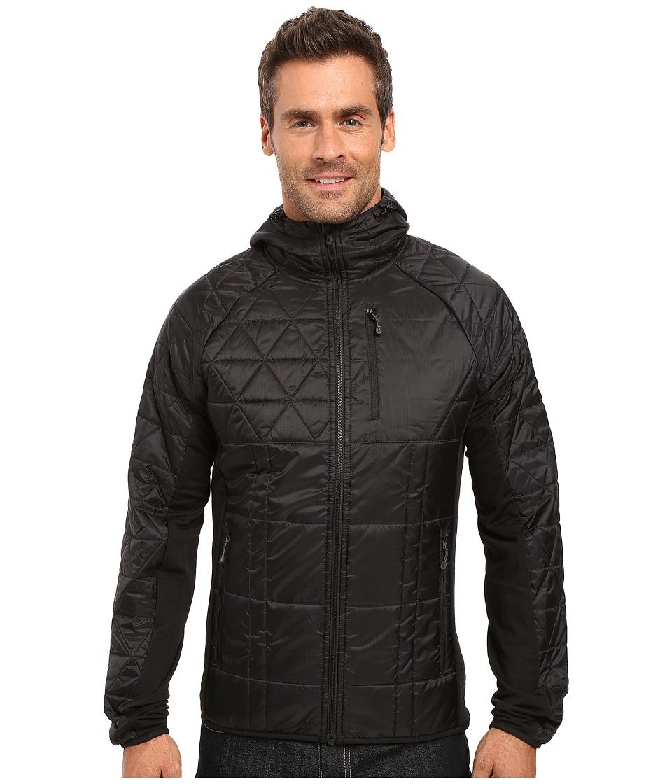 Smartwool - Double Corbet 120 Hoodie (Black) Men's Sweatshirt