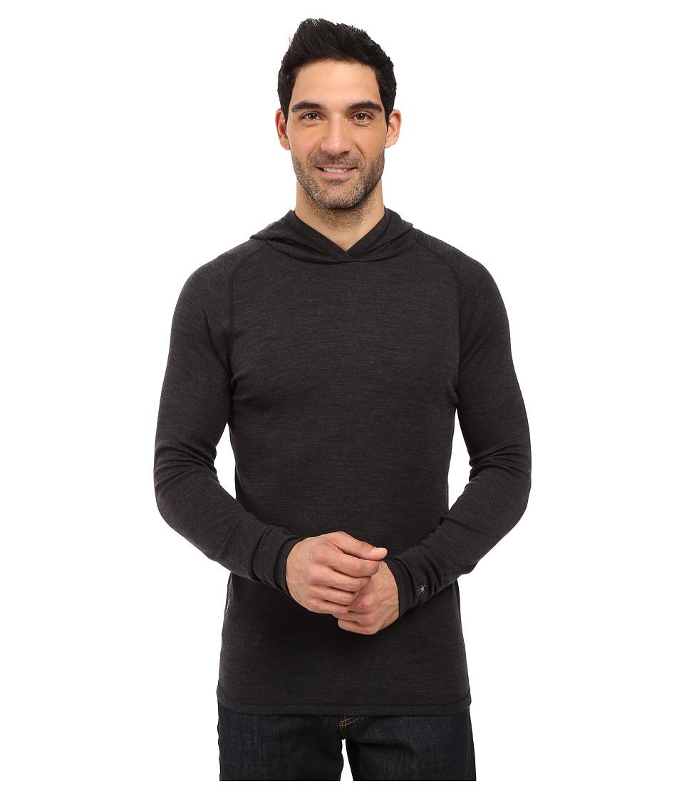 Smartwool - NTS Mid 250 Hoodie (Charcoal Heather) Men's Sweatshirt