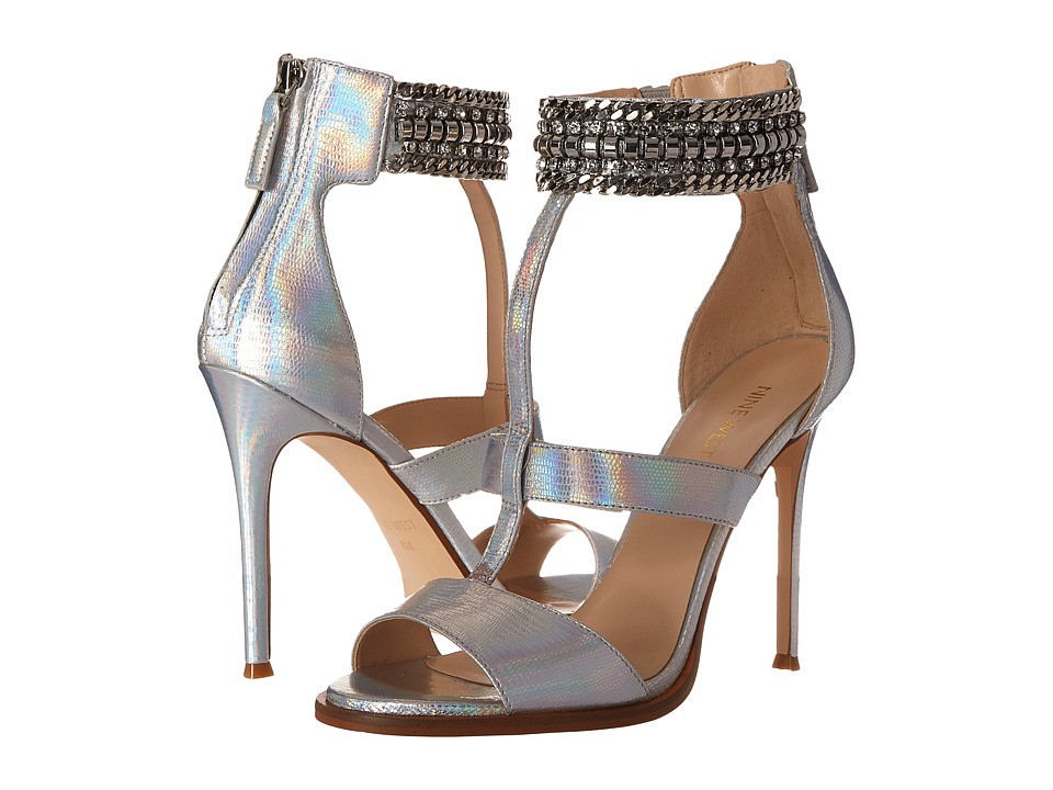 Nine West - Halonia (Silver Metallic) High Heels