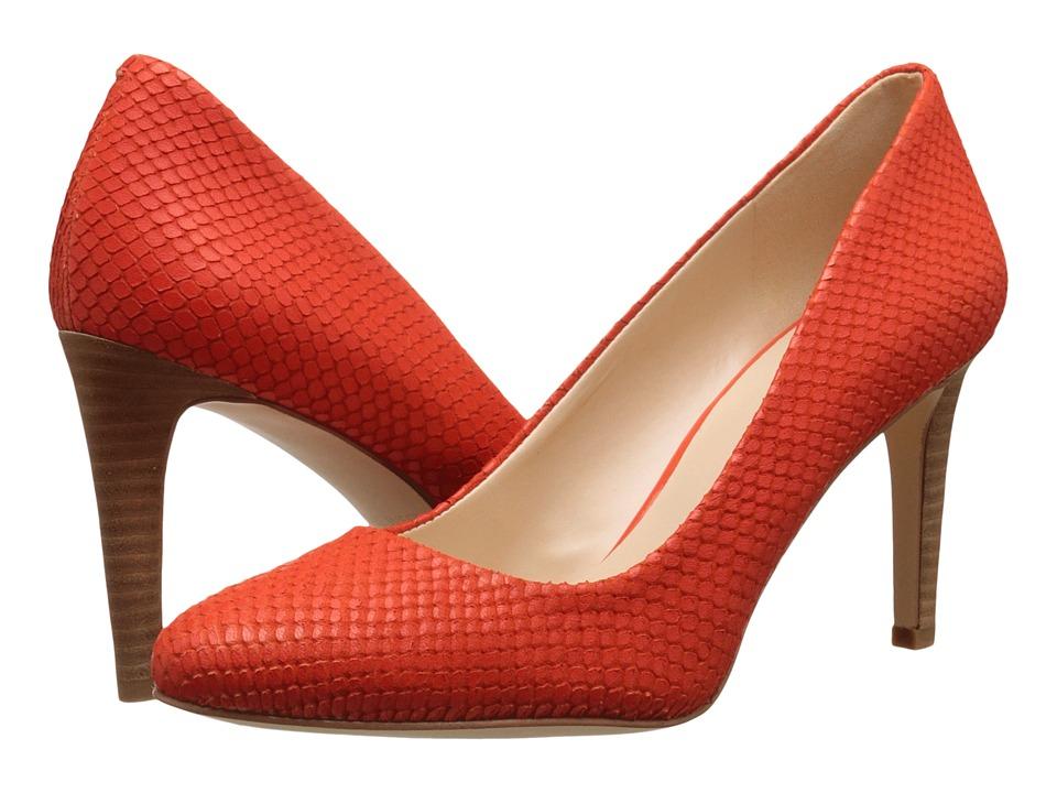 Nine West - Handjive (Red Orange Leather) High Heels