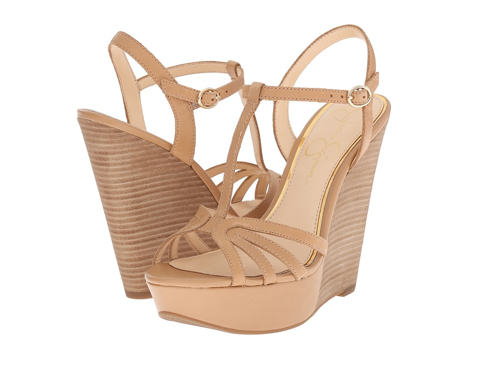 Jessica Simpson - Bevin (Buff Mari Buff) Women's Wedge Shoes