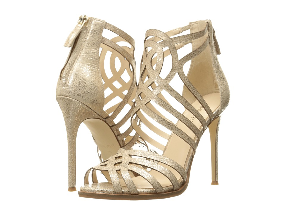 Nine West - Hartthrob (Light Natural Metallic) High Heels