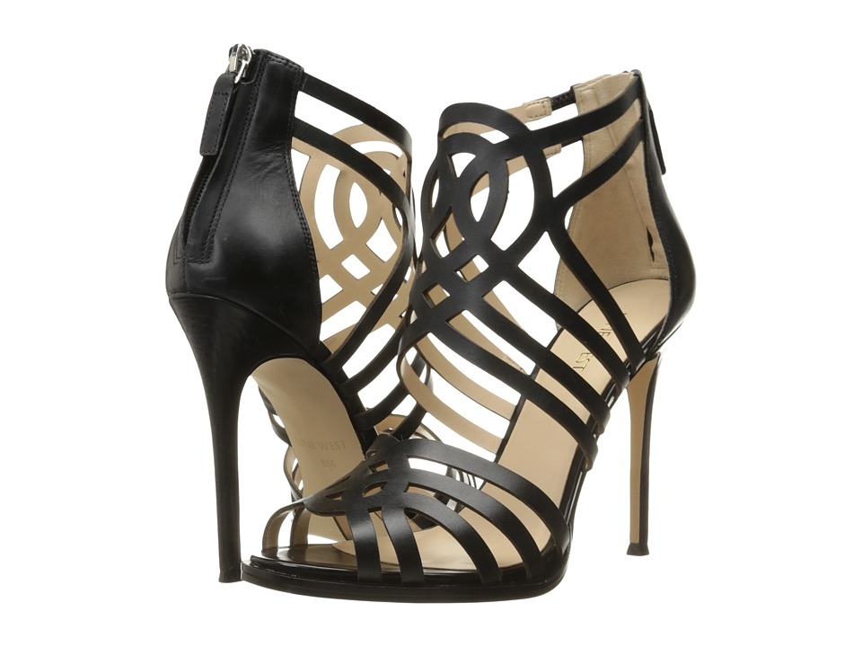 Nine West - Hartthrob (Black Leather) High Heels