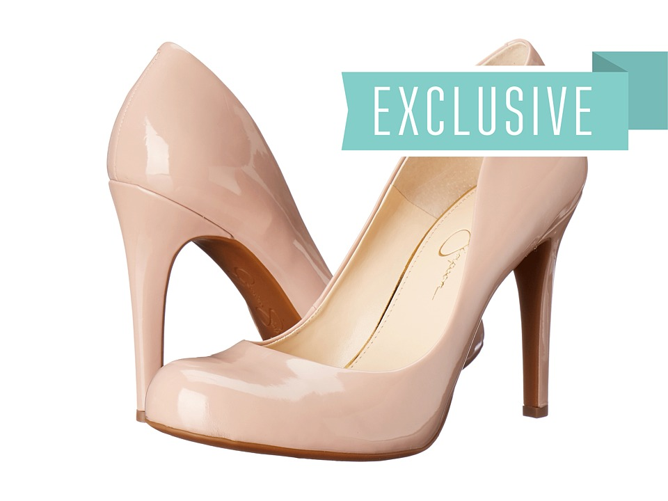 Jessica Simpson - Calie (Nude Blush Patent) High Heels