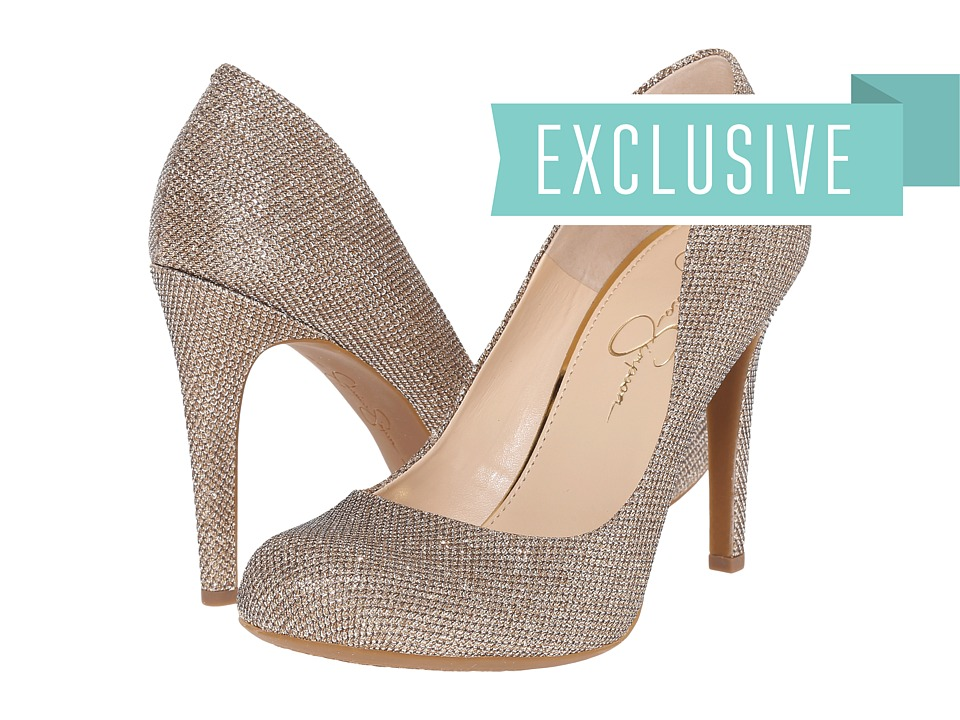 Jessica Simpson Calie (Gold) High Heels