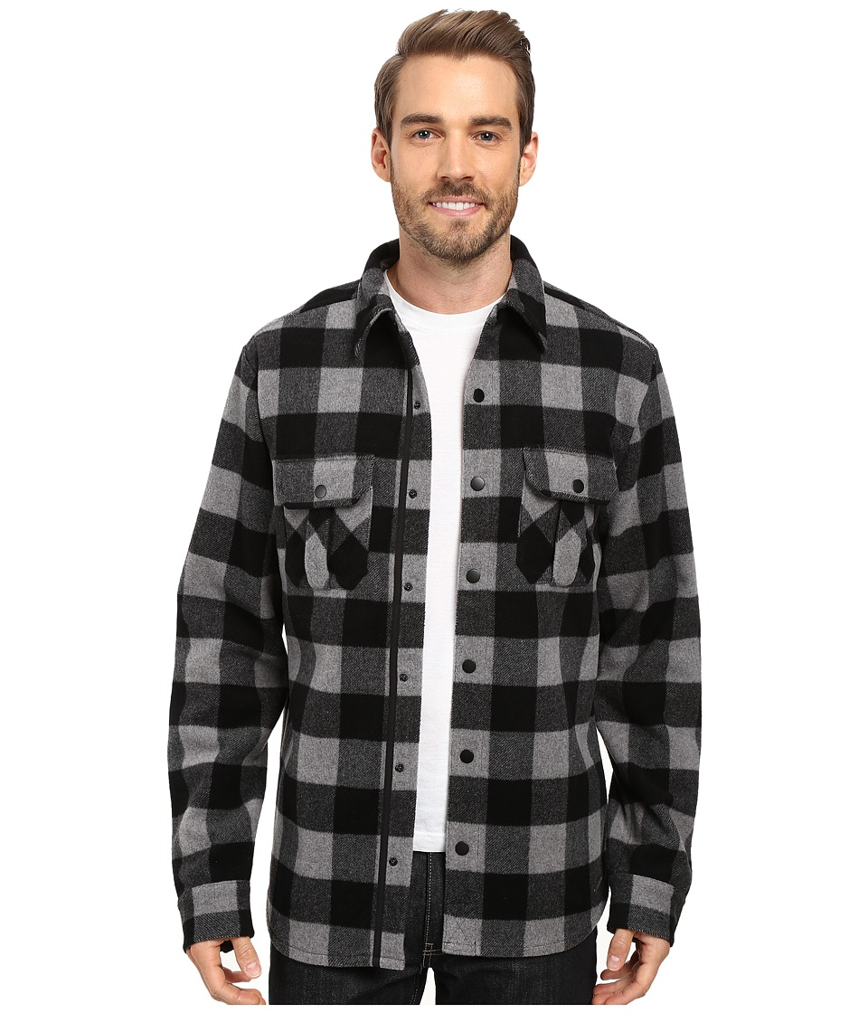 Smartwool - Anchor Line Shirt Jacket (Medium Gray Heather) Men's Clothing