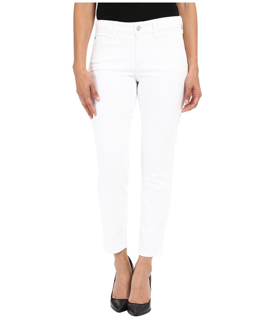 NYDJ Petite Petite Clarissa Ankle in Optic White (Optic White) Women