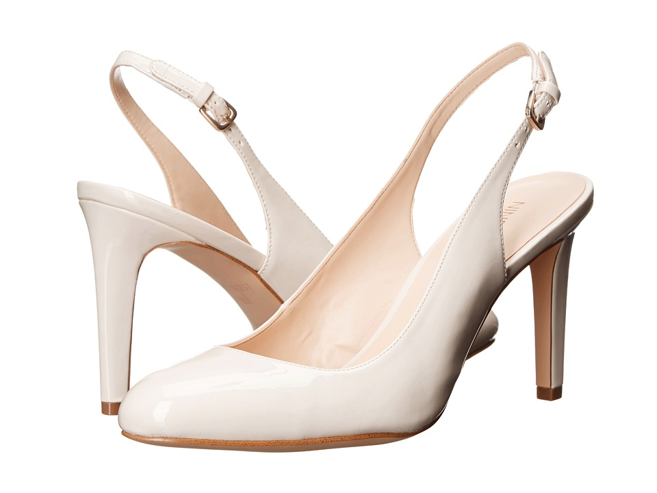 Nine West - Holiday3 (Off-White Synthetic) Women's Shoes