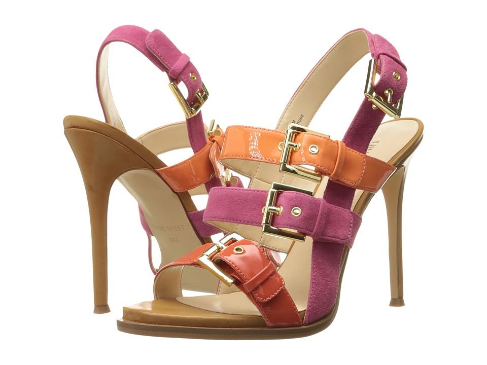 Nine West - Howrude (Dark Pink Multi Suede) High Heels
