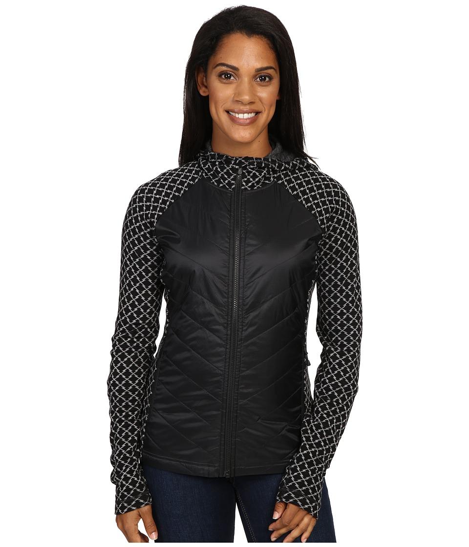 Smartwool - Double Propulsion 60 Hoodie (Black/Light Gray) Women's Sweatshirt